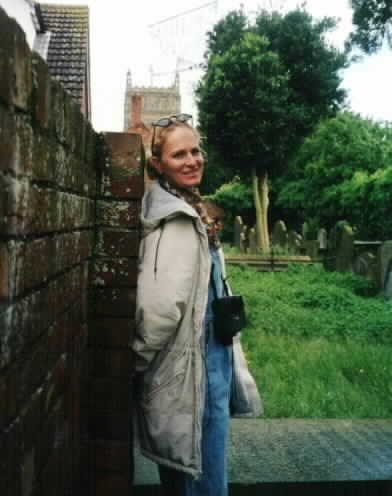 Author Jennifer Webster in England