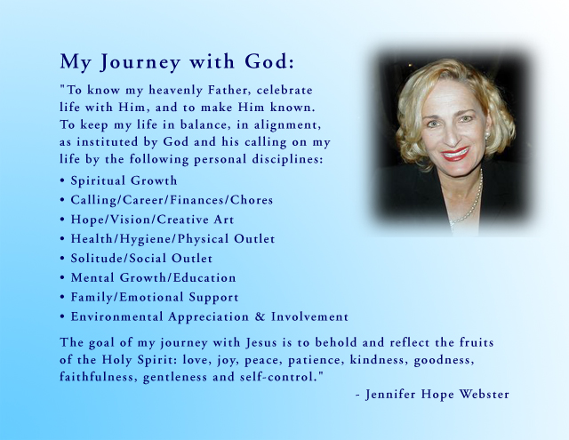 Jennifer Webster Statement of Faith