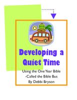 Developing Quiet Time