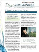 Europe-A strategic Focus of Christians worldwide